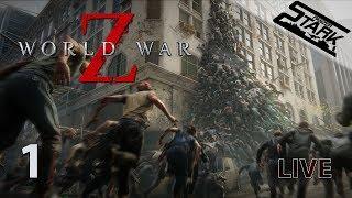 World War Z - 1.Rész (Zombik mindenhol!) - Stark LIVE