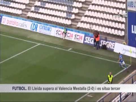 Lleida Esportiu 2-0 Valencia Mestalla (Lleida Tv)