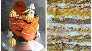 Минимум красителей Насыщенный цвет Очень вкусный Торт на Хэллоуин
