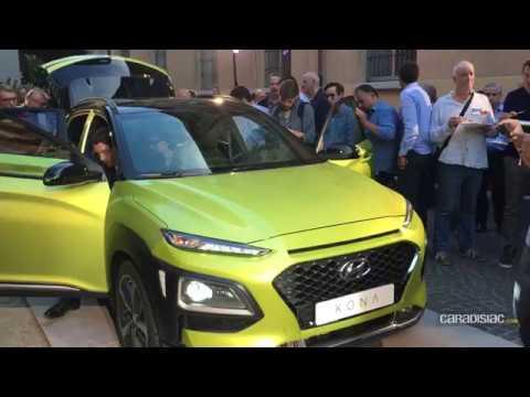 Pr sentation La Hyundai Kona 2017 en d tails