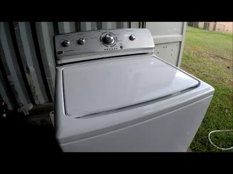 Maytage Centennial He Washer Fix Youtube