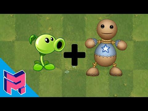 Plants Vs Zombies Fusion Hack Animation ( Peashooter + Kick The Buddy )