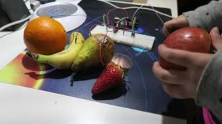 Piano de Frutas muy fácil con Arduino y S4A