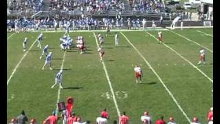 Iowa Western Football 2010 - Wes Smith WR/Returner #1