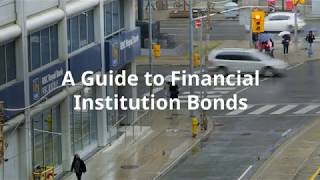 A Guide to Financial Institution Bonds