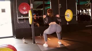 Celie Josefine Lindblad - Træningsøvelser i fitness   Booty building