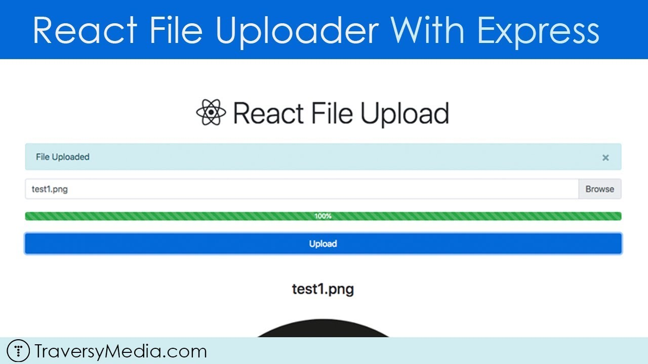 React File Uploader With Express (Using React Hooks)