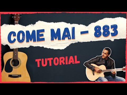 COME MAI - 883 - DIVERTIAMOCI CON LA CHITARRA