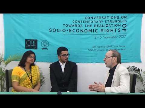 Conversations |  Prof. Gabor Gombos | THE REALISATION OF SOCIO-ECONOMIC RIGHTS