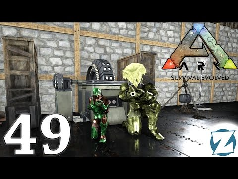 ARK Survival Evolved Gameplay - Ep49 - Sniper Rifle Hunting Dinosaurs - Let's Play