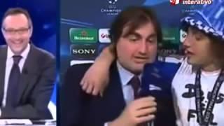 David Luiz ubriaco dopo la finale