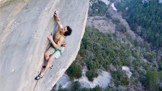 World's Hardest Flash - Adam Ondra climbs 9a+ First Try
