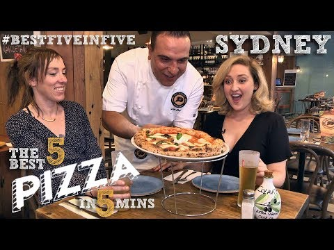 Sydney's Five Best Pizzas In Five Minutes With Madeleine Culp & Kate Griffin