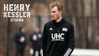 New england revolution rookie center back henry kessler sits down with elizabeth pehota to talk about his first impressions of mls, lessons learned through h...