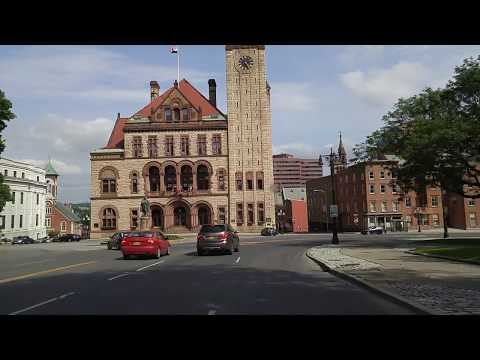 Driving by Albany,New York