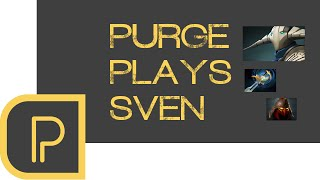 Dota 2 Purge plays Sven - replay