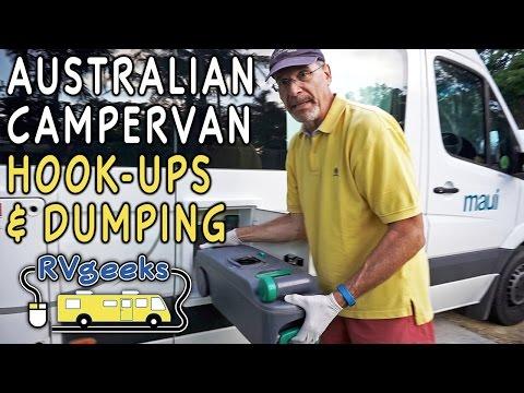 Hook Up & Dump Tanks on an Australian Campervan