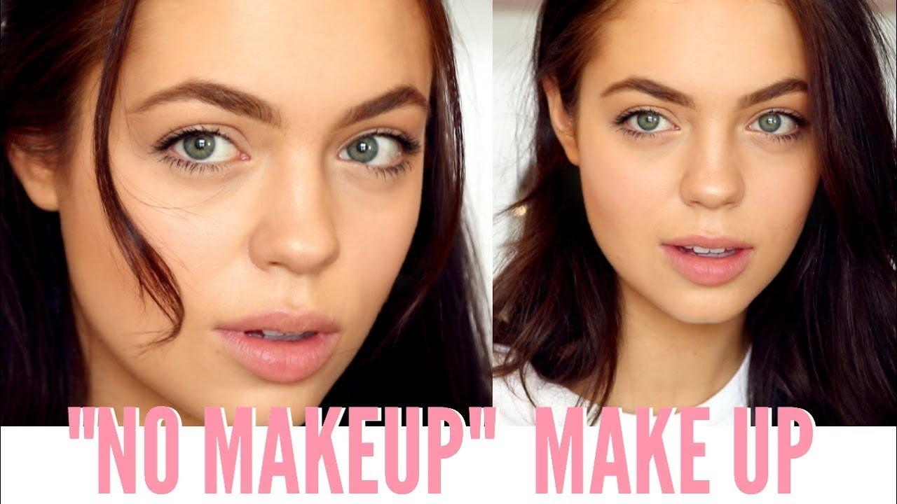No Makeup Makeup Look 2018 Everyday Makeup Tutorial Youtube