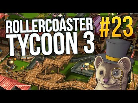 Let's Play RollerCoaster Tycoon 3 - Part 23 - LA-LA LAND #2 ★ Rollercoaster Tycoon 3 Gameplay