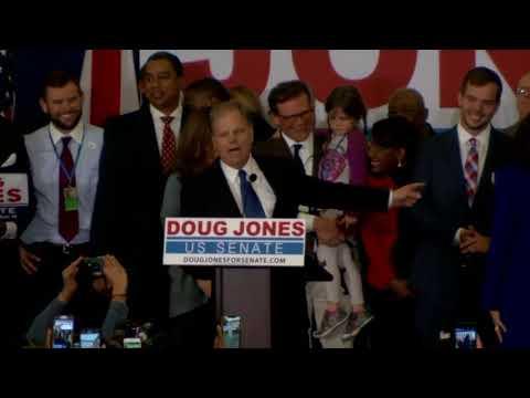 Donald Trump is defended by democrat Doug Jones in Alabama