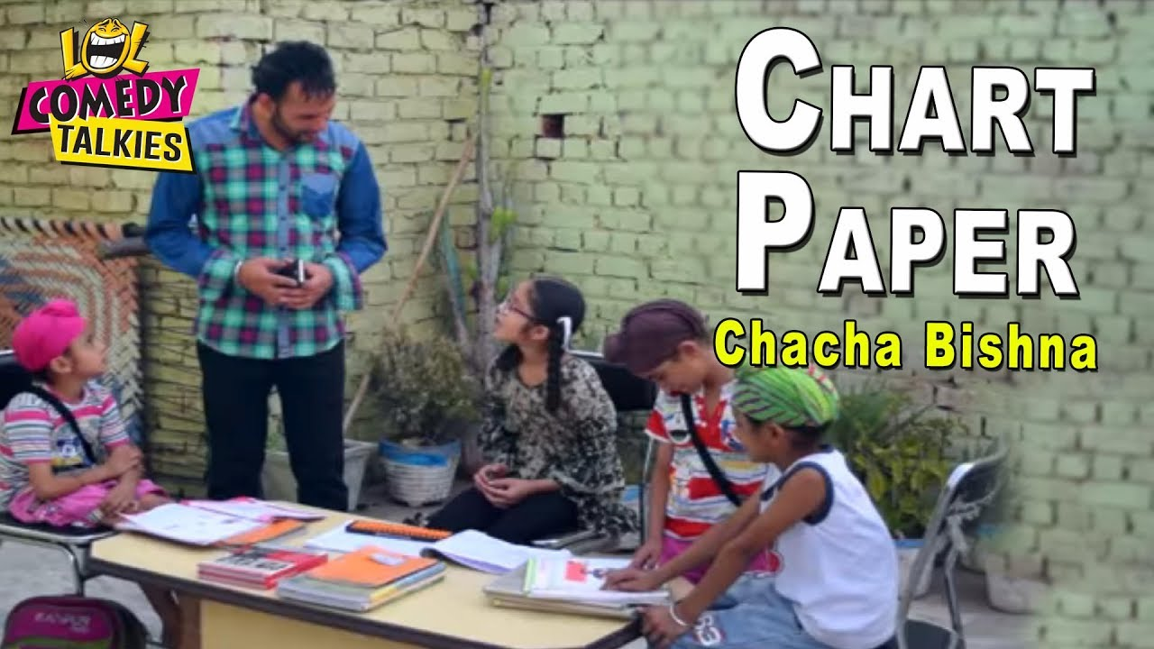 small resolution of chart paper comedy chacha bishna best punjabi comedy