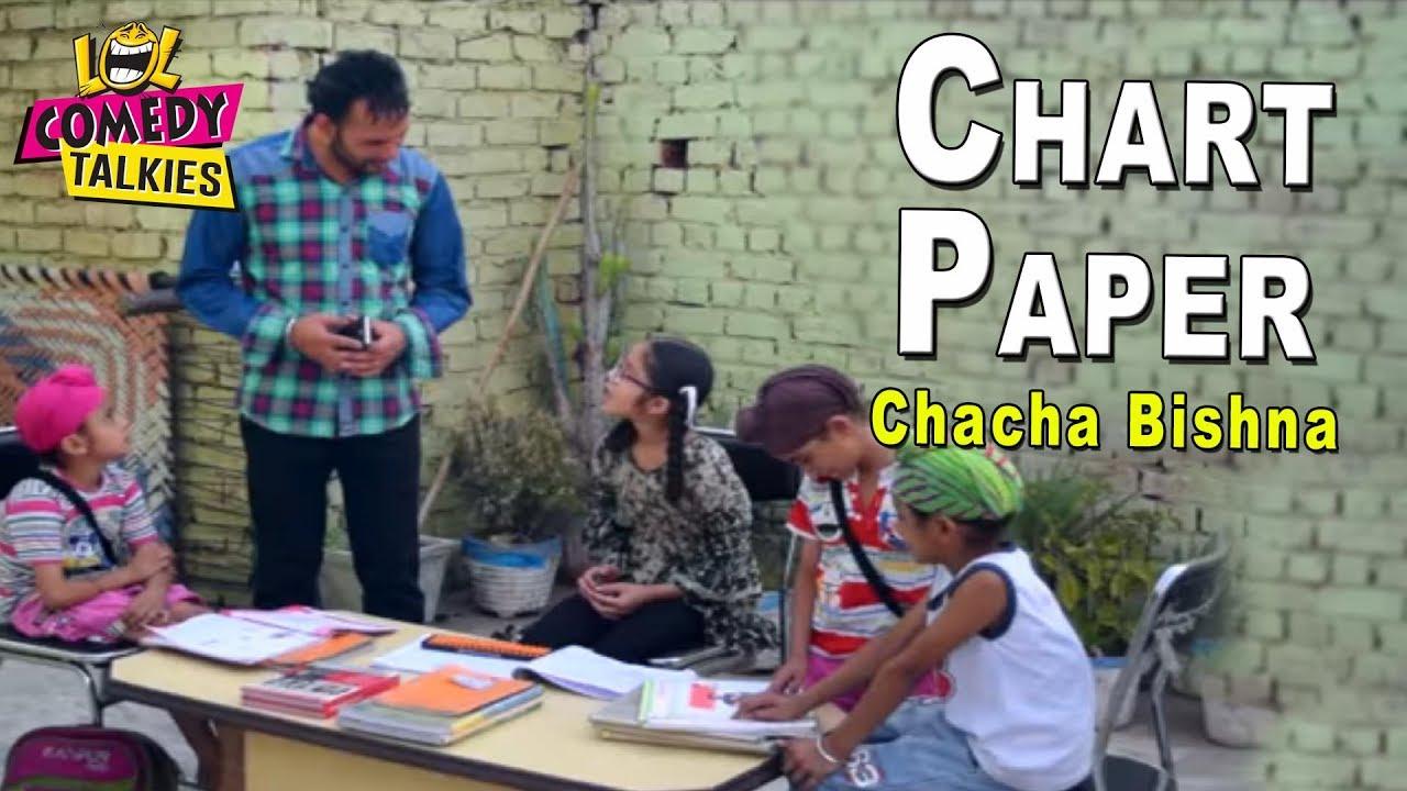 medium resolution of chart paper comedy chacha bishna best punjabi comedy
