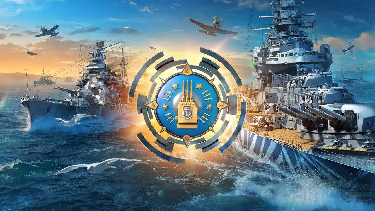 Обои wg, wargaming net, wows, мир кораблей, шторм. Игры foto 11