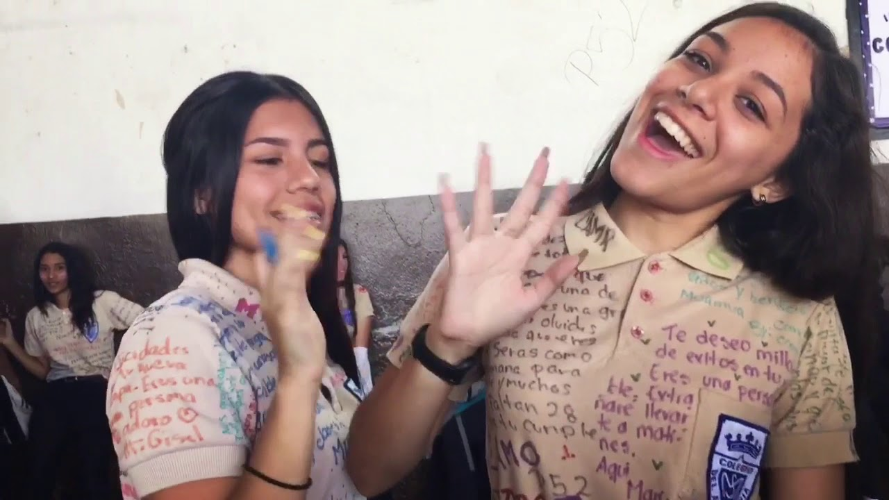 Ultimo timbre / Caravana Colegio Del Ave María Promo LII - YouTube