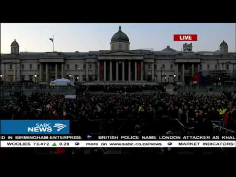 London holds a vigil following Westminster terror attacks