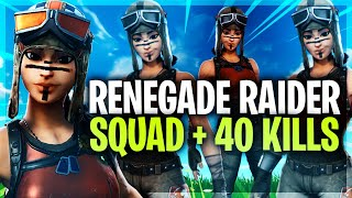 THE Pass when 4 Renegade Raiders play Fortnite together...