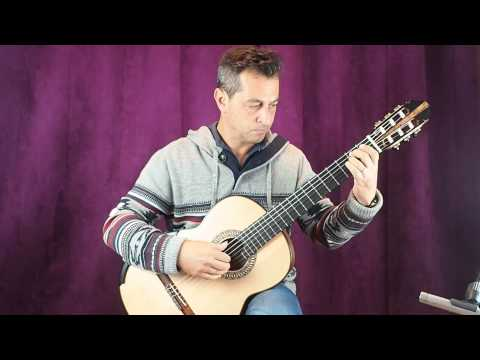 Allan Bull 2015 Lattice Concert Guitar Demo Fortea Www