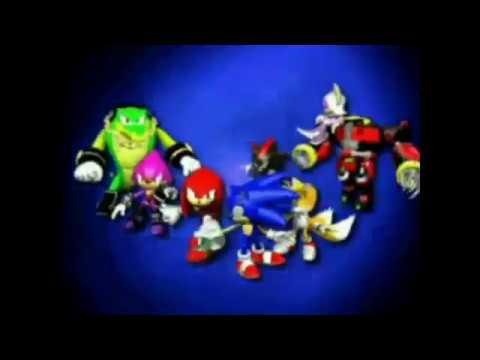 Sonic Heroes Beta Intro with Lyrics
