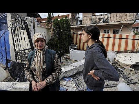 Macédoine : retour au calme dans le quartier albanais en ruines de Kumanovo