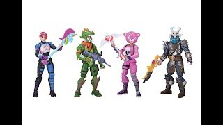 FORTNITE figures Squad mode 4 pack!