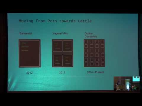 Image from The Evolution of Containerised Testing at Demonware