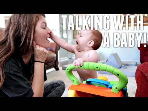Having A Conversation With A Baby!