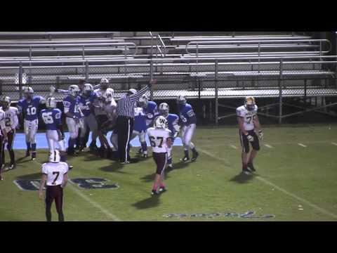 The Walker School varsity football vs Trion High School, 2014