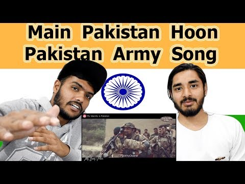 Indian reaction on Main Pakistan Hoon | Pakistan Army Song | Swaggy d
