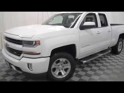 White Chevy Silverado >> Ec16046 2016 Summit White Chevrolet Silverado 1500 Lt Youtube