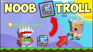 When New Growtopia Noob Players Get Trolled! (Growtopia)