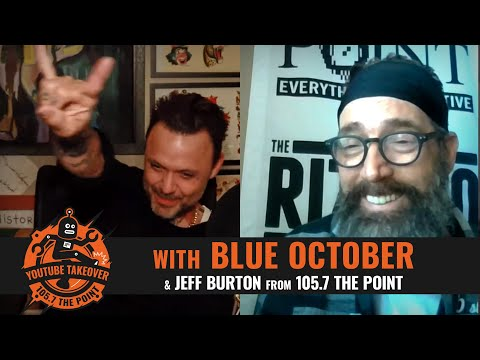 BLUE OCTOBER: Justin Furstenfeld reflects on days before sobriety, family, friends, fans, and more