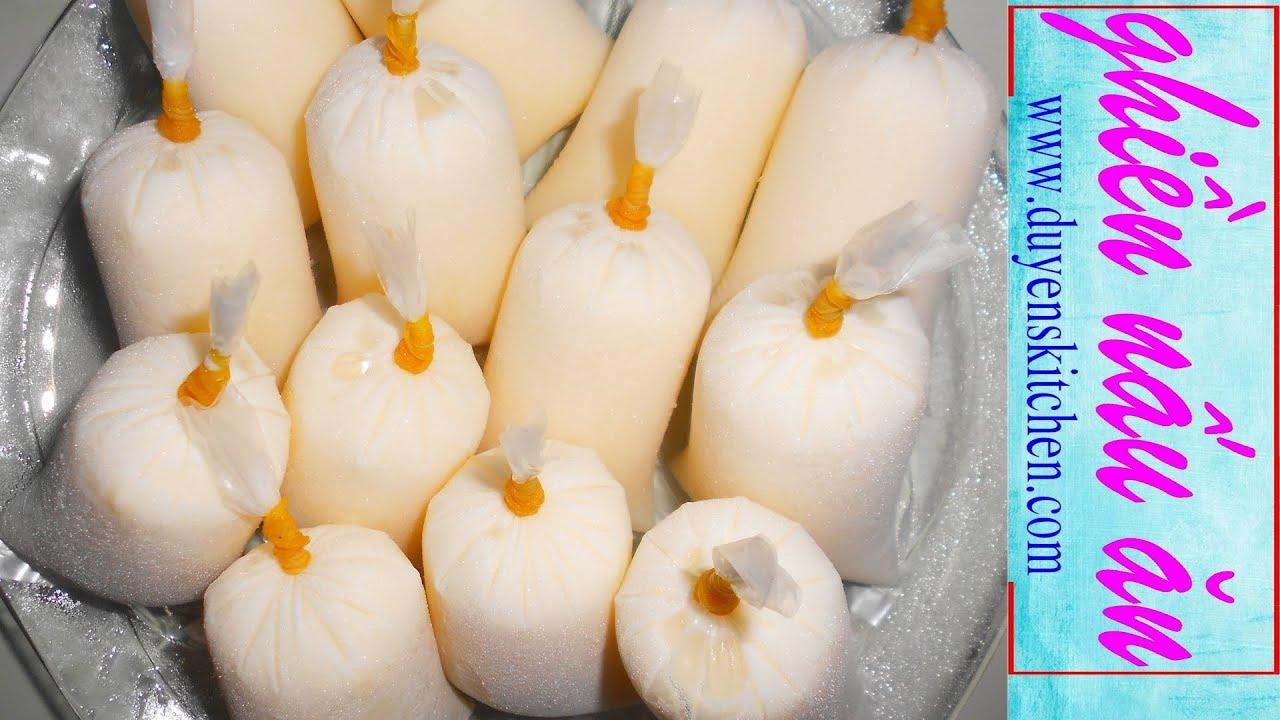 Làm Yaourt Bịch Thật Dễ / Sữa Chua Túi By Duyen's Kitchen | Ghiền Nấu Ăn