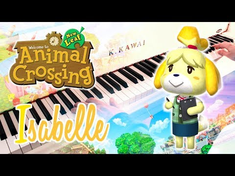 Chords For Isabelle Animal Crossing New Leaf Piano Cover W