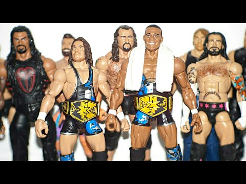 AMERICAN ALPHA ELITES! CUSTOM ELITE CM PUNK, ROMAN REIGNS, AMBROSE, + MORE! (MAIL CALL 90)