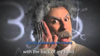 Einstein vs Stephen Hawking - Epic Rap Battles of History #7 [subtitulado español]