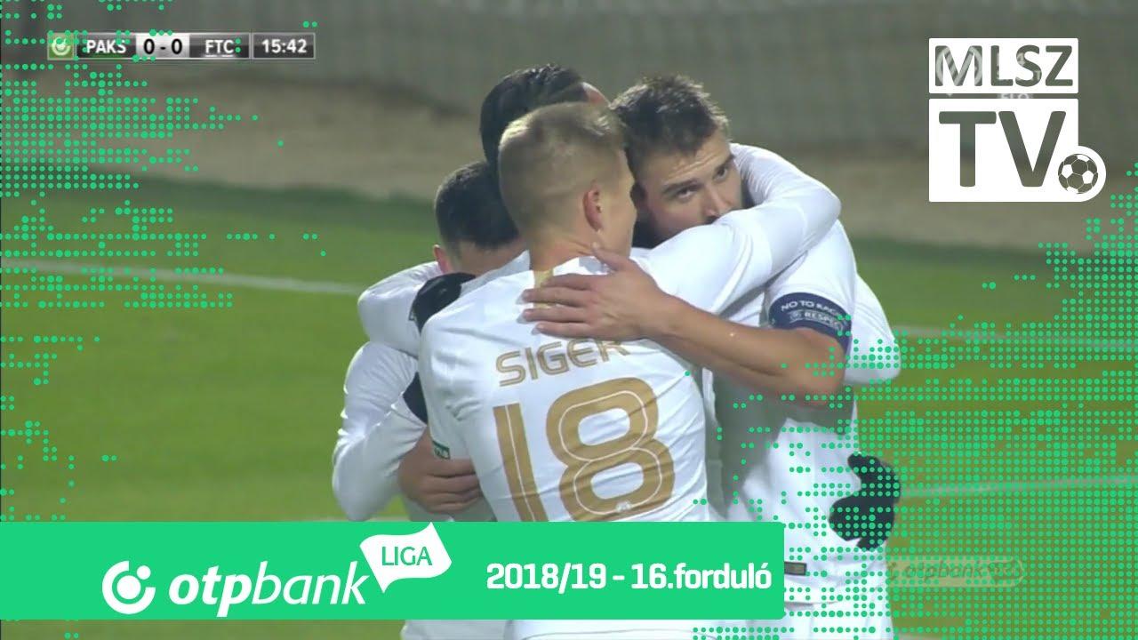 Böde Dániel gólja a Paksi FC – Ferencvárosi TC mérkőzésen