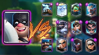 EXECUTIONER VS ALL CARDS | CLASH ROYALE 1 VS 1 BATTLE