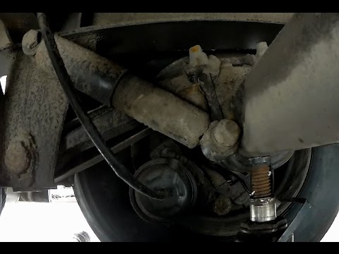 Завариваем кронштейн крепления амортизатора на прицепе, ось БПВ (BPW).Ремонт.Полуприцеп Когель.