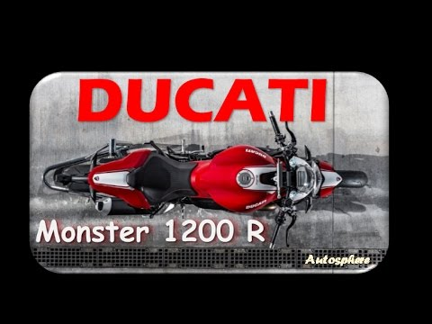 New Concept !! 2017 ducati monster 1200 r - second generation of Testastretta 11° DS engine