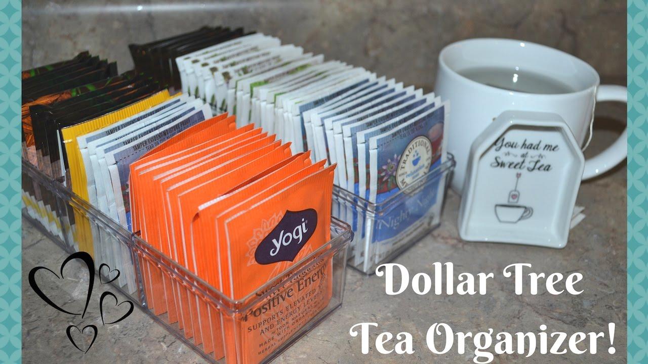 Dollar Tree Diy Tea Organizer Idea How To Organize
